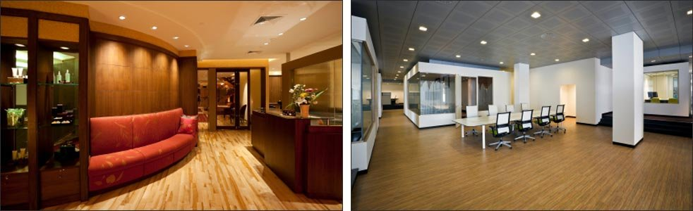 Deluxe flooring for Hotels, bars and commercial outlets